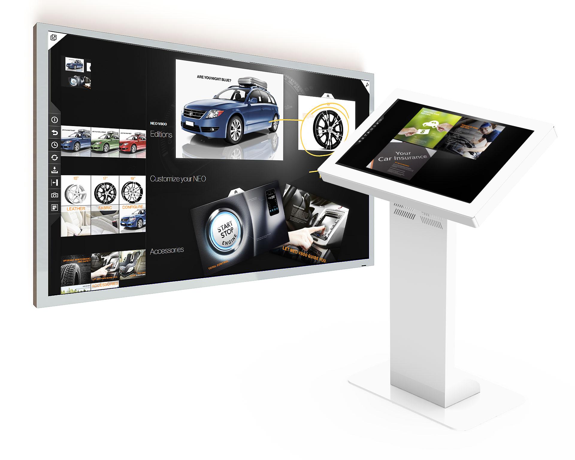 "Large Displays 32"" – 95"" - EG Electronics"