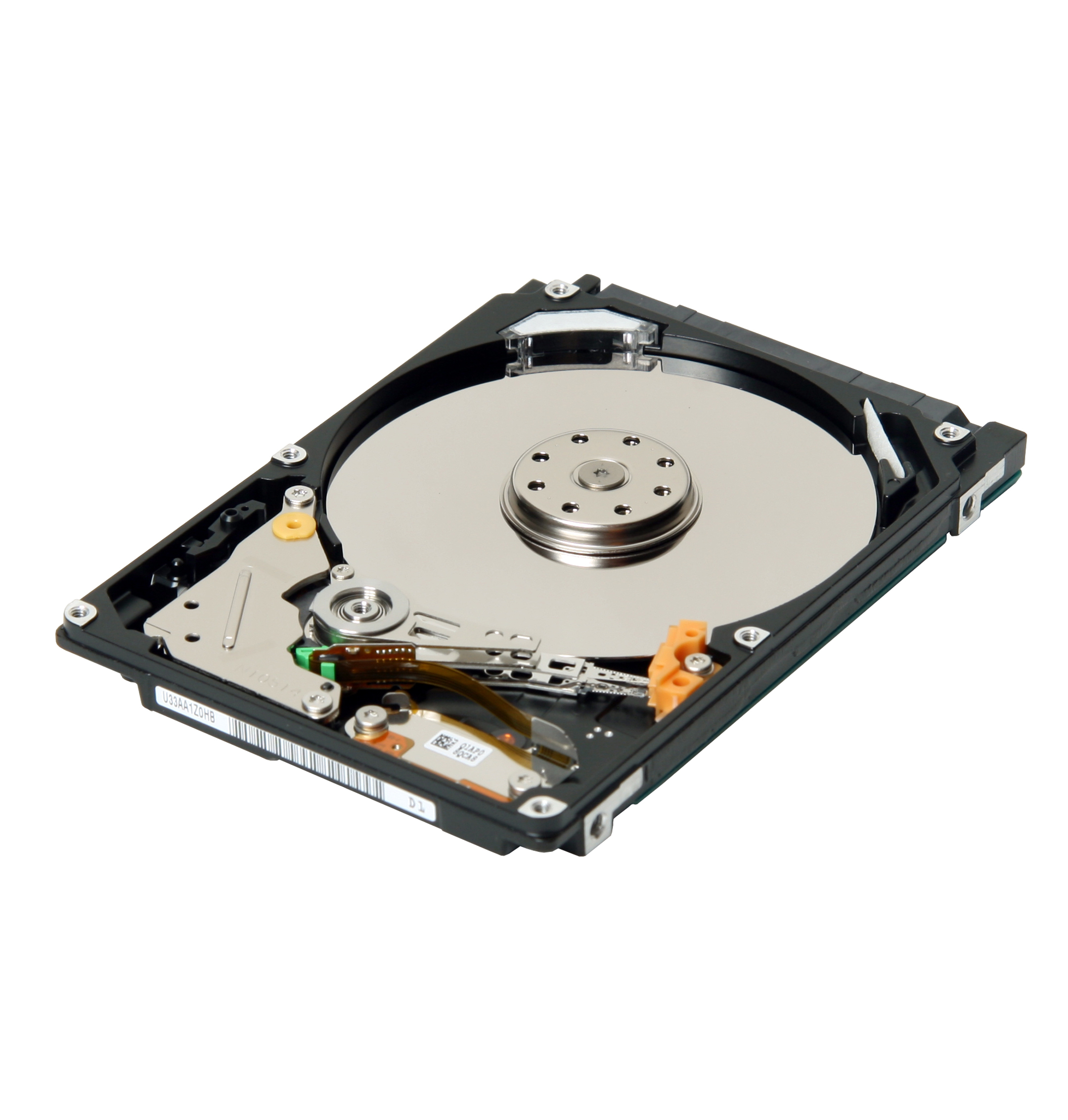 how to shatter a hard drive disk
