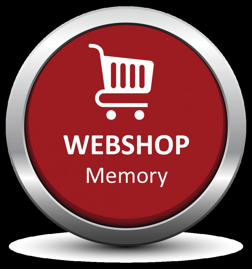 Memory webshop
